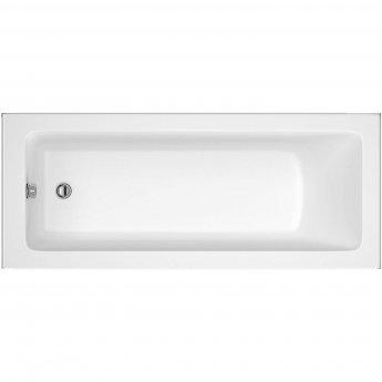 RAK Karla Single Ended Rectangular Bath 1700mm x 700mm - Acrylic