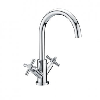 RAK Kitchen Sink Mixer Tap Cross Head - Chrome