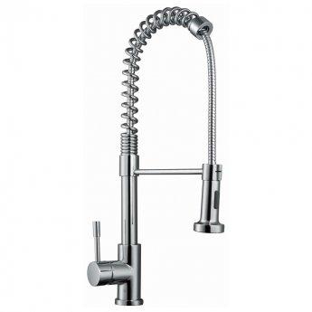 RAK RAKKIT012 Pull Out Kitchen Sink Mixer Tap Side Lever - Chrome