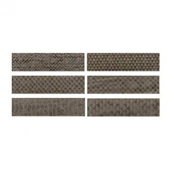 RAK Loft Brick High Gloss Decor Tiles - 65mm x 260mm - Greige (Box of 41)