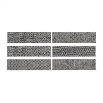 RAK Loft Brick High Gloss Decor Tiles - 65mm x 260mm - Grey (Box of 41)