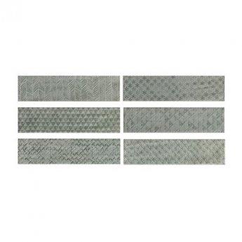 RAK Loft Brick High Gloss Decor Tiles - 65mm x 260mm - Light Green (Box of 41)