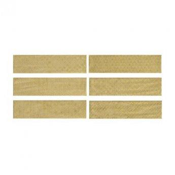 RAK Loft Brick High Gloss Decor Tiles - 65mm x 260mm - Yellow (Box of 41)