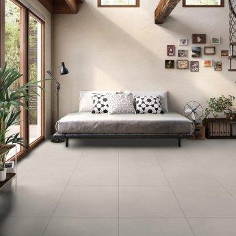 RAK Lounge Unpolished Tiles - 600mm x 600mm - Light Grey (Box of 4)