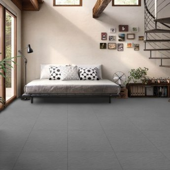 RAK Lounge Rustic Tiles - 600mm x 600mm - Anthracite (Box of 4)