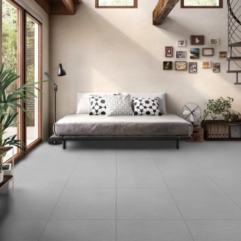 RAK Lounge Unpolished Tiles - 600mm x 600mm - Grey (Box of 4)