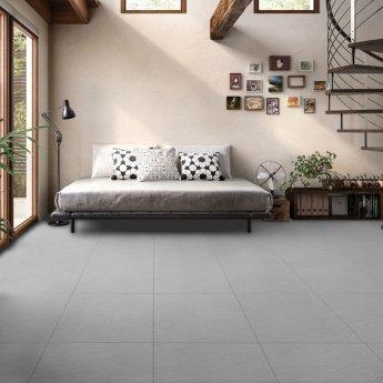 RAK Lounge Rustic Tiles - 600mm x 600mm - Grey (Box of 4)