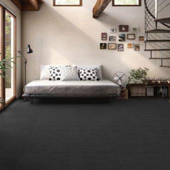 RAK Lounge Unpolished Tiles - 600mm x 600mm - Light Black (Box of 4)