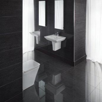 RAK Lounge Unpolished Tiles - 300mm x 600mm - Black (Box of 6)