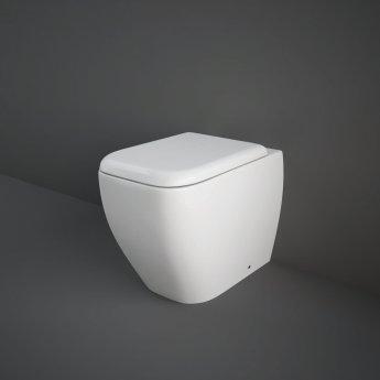 RAK Metropolitan Back to Wall Toilet WC 525mm Projection - Soft Close Seat