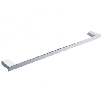 RAK Moon Single Towel Bar 600mm Wide - Chrome