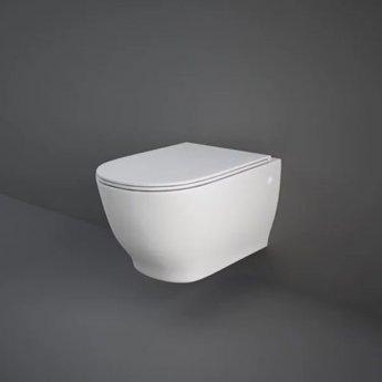RAK Moon Wall Hung Toilet WC -Soft Close Seat