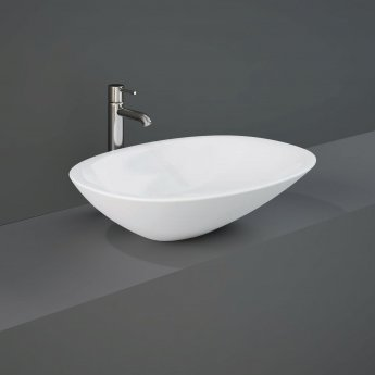 RAK Morning Sit-On Countertop Basin 540mm Wide - 0 Tap Hole