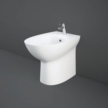 RAK Morning Back To Wall Comfort Height Bidet 520mm Projection - White