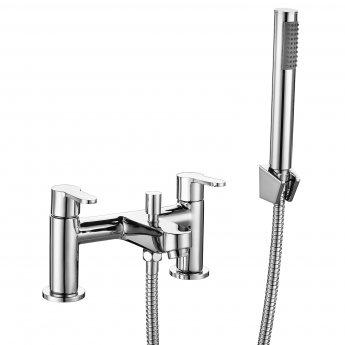 RAK Morning Bath Shower Mixer Tap Pillar Mounted - Chrome