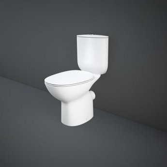 RAK Morning Rimless Full Access Close Coupled Toilet 640mm Projection - Soft Close Seat