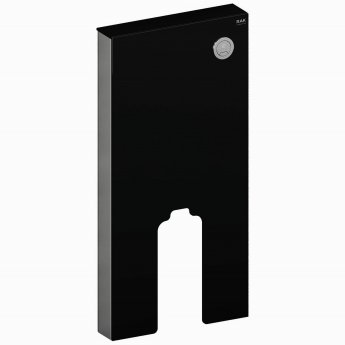 RAK Obelisk Cistern Cabinet for Back to Wall Toilet Pan - Black