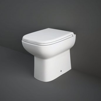 RAK Origin Back to Wall Toilet 500mm Projection - Soft Close Seat