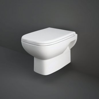 RAK Origin Wall Hung Toilet 500mm Projection - Soft Close Seat
