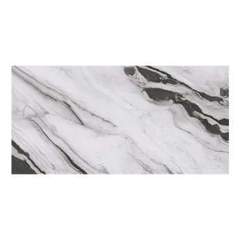 RAK Panda Marble Full Lappato Tiles - 1200mm x 2600mm - White (Box of 1)