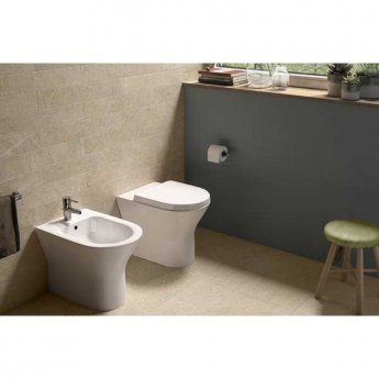 RAK Resort Back To Wall Bidet 550mm Projection - White