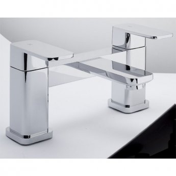 RAK Resort Bath Filler Tap, Deck Mounted, Chrome