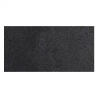 RAK Revive Concrete Matt Tiles - 300mm x 600mm - Pitch Black (Box of 6)