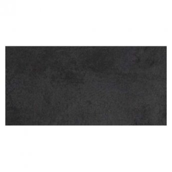 RAK Revive Concrete Matt Tiles - 370mm x 750mm - Pitch Black (Box of 4)