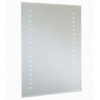 RAK Rubens Rectangular Bathroom Mirror 700mm H x 500mm W Illuminated