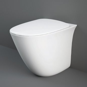 RAK Sensation Rimless Back to Wall Toilet 520mm Projection - Soft Close Seat (Urea)