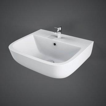 RAK Series 600 Cloakroom Basin 400mm Wide 1 Tap Hole