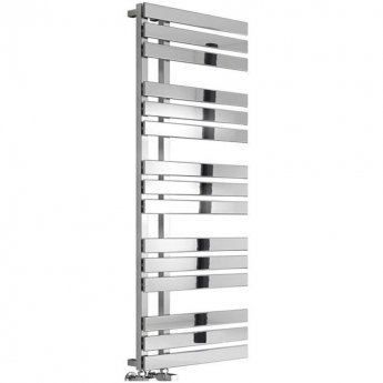 RAK Shard Designer Heated Towel Rail 1500mm H x 500mm W - Chrome