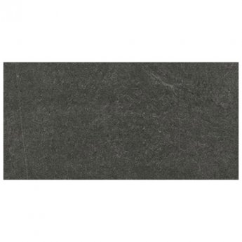 RAK Shine Stone Matt Tiles - 300mm x 600mm - Black (Box of 6)