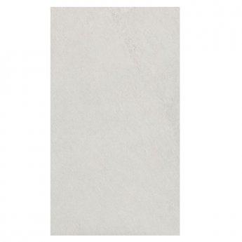 RAK Shine Stone Matt Tiles - 300mm x 600mm - White (Box of 6)