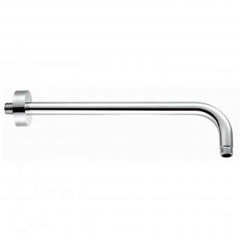 RAK Wall Mounted Round Shower Arm 300mm Length - Chrome