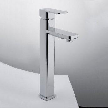 RAK Resort Tall Mono Basin Mixer Tap Single Handle Chrome