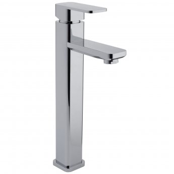 RAK Resort Tall Mono Basin Mixer Tap - Chrome