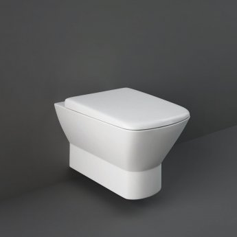 RAK Summit Wall Hung Toilet with Hidden Fixations - Urea Soft Close Seat