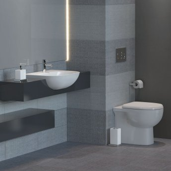 RAK Tonique Semi-Recessed Basin 520mm Wide 1 Tap Hole