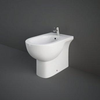 RAK Tonique Back to Wall Bidet 550mm Projection - White
