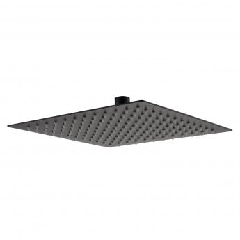 RAK Ultra Slim Square Shower Head - Black