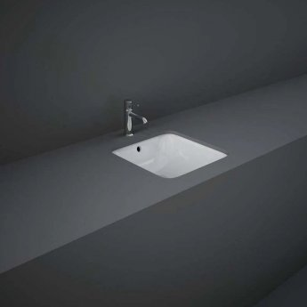 RAK Variant Square Undermount Countertop Basin 360mm Wide - 0 Tap Hole