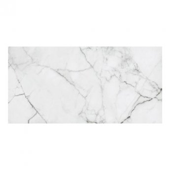 RAK Versilia Marble Full Lappato Tiles - 1200mm x 2600mm - White (Box of 1)