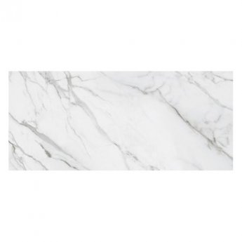 RAK Versilia Marble Full Lappato Open Book A Tiles - 1350mm x 3050mm - White (Box of 1)