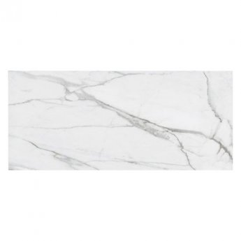 RAK Versilia Marble Full Lappato Open Book D Tiles - 1350mm x 3050mm - White (Box of 1)