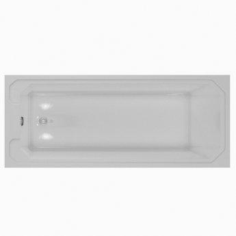 RAK Washington Single Ended Bath with Leg Set 1700mm x 750mm - Acrylic