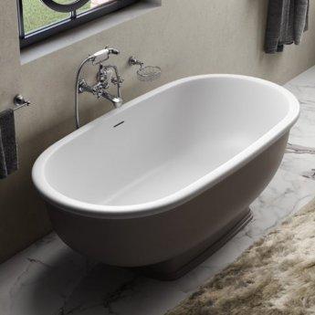 RAK Washington Freestanding Bath 1560mm X 810mm - Grey