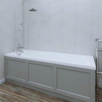 RAK Washington Single Ended Bath with Leg Set 1700mm x 700mm - Acrylic