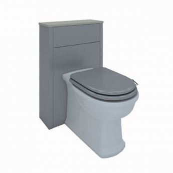 RAK Washington Back to Wall WC Unit 550mm Wide - Grey