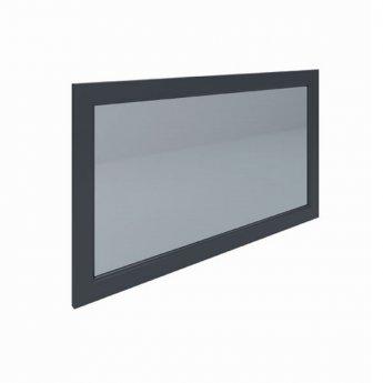 RAK Washington Framed Bathroom Mirror - 650mm H x 1185mm W - Black